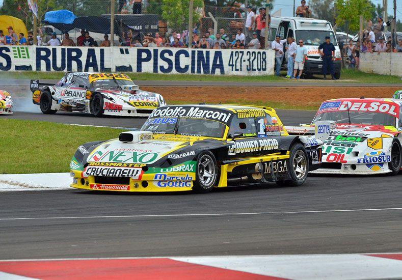 El auto del Gurí en el centro de la polémica. Ayer el entrerriano estuvo en Buenos Aires.