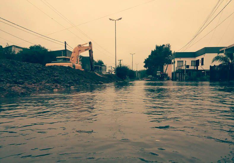 Villa Paranacito sigue complicada por la sudestada