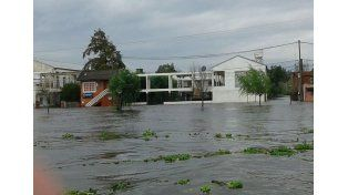 Hay más de 12.300 personas afectadas por las lluvias y más de 300 evacuados en la provincia