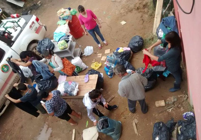 Foto: BOmberos Voluntarios de Villa Paranacito