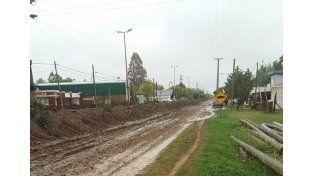 La continuidad de las lluvias complica la situación en el departamento Islas