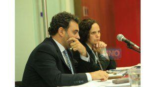 Los fiscales Cánepa y Castagno. (Foto UNO)