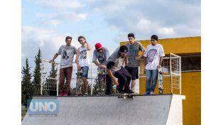 Esperan la llegada de skaters y músicos de toda la región. Foto Gentileza Agustín Zuttión.