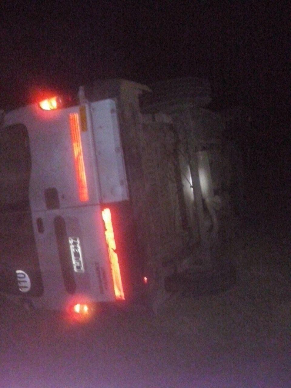 Así quedó la camioneta después del choque. Foto gentileza Policía de Entre Ríos.
