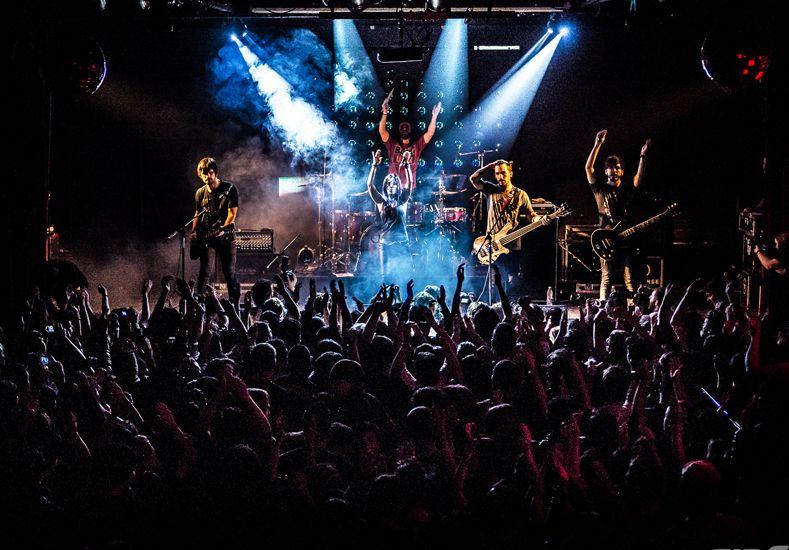 Trayectoria. Cirse compartió escenario con Evanescence