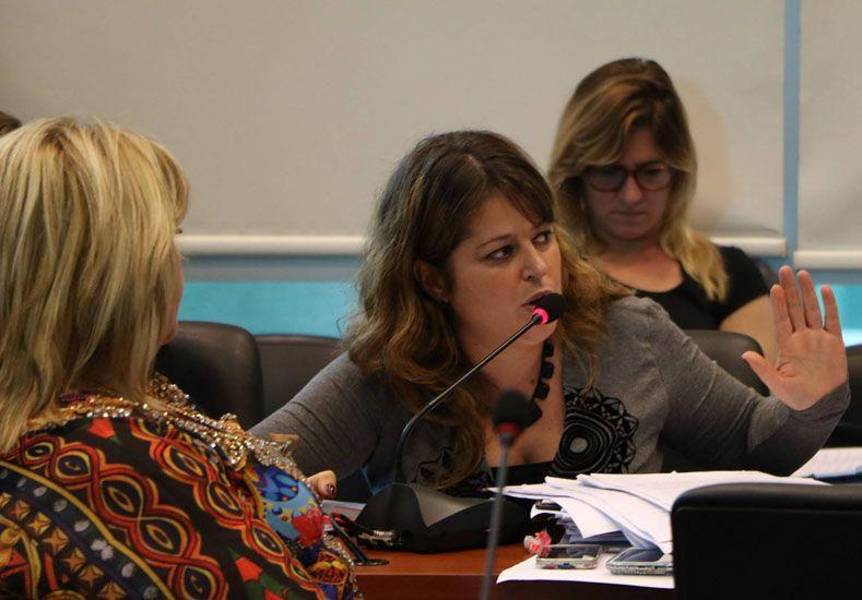 La Diputada Gaillard alertó sobre una justicia adicta al macrismo. Foto Facebook Carolina Gaillard.
