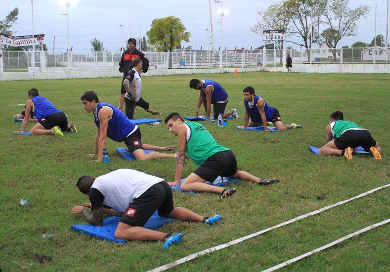El Rojinegro tenía pensado entrenar ayer en el estadio