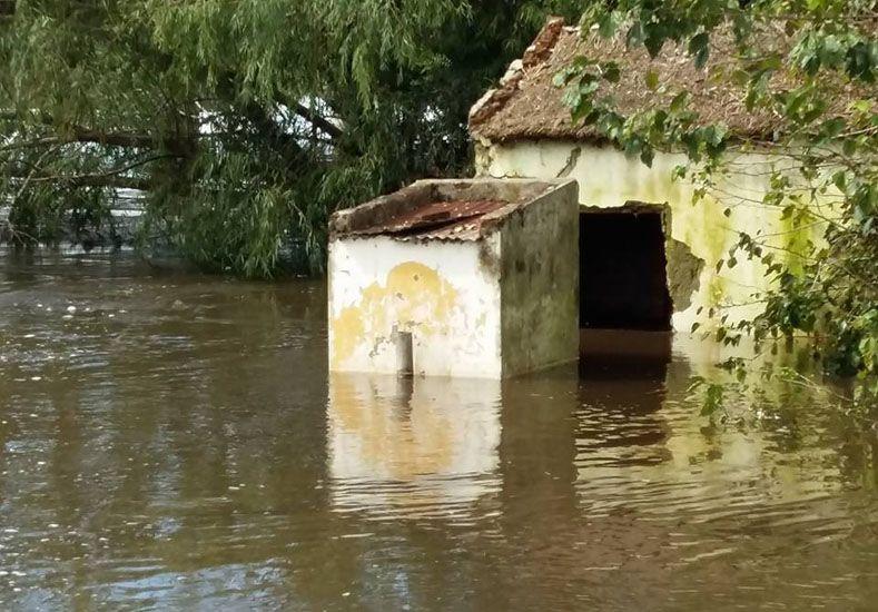 El Niño y la creciente castigan a Tala y avanzan hacia Gualeguay