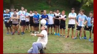 Sorpresa en el entrenamiento de Infanto Juvenil de Belgrano