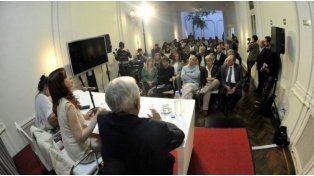 Cristina retomó la actividad política y se reunió con diputados del Frente para la Victoria