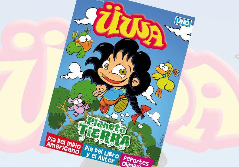 Suplemento ÜWA junto a Diario UNO