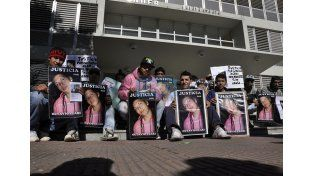 El crimen de Clari fue objeto de reiterados reclamos de justicia. (Foto: UNO/Archivo)