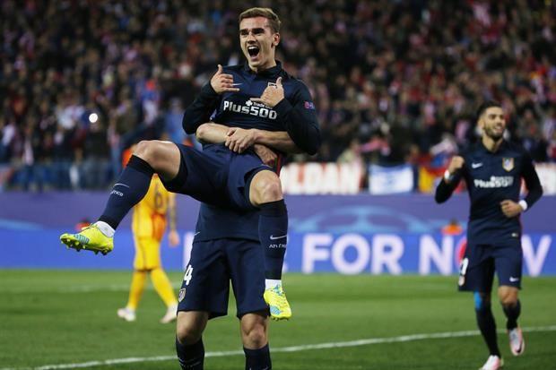 El Atlético Madrid de Simeone dejó afuera al Barcelona