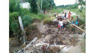 La Provincia realiza rondas sanitarias en las zonas inundadas