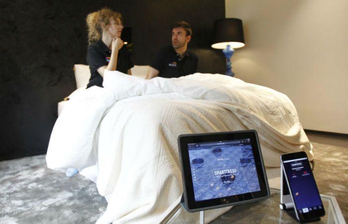 El novedoso colchón fue presentado hoy en Madrid y promete causar polémica.