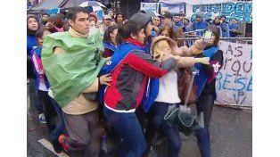 Periodista denunció que fue agredida en la marcha en apoyo a CFK