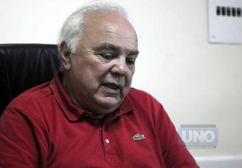 El presidente Ferraro registra antecedentes de hipertensión arterial.  Foto UNO/Juan Baialardo