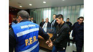 José Pereyra. Iba sentado atrás.  Foto UNO/Diego Arias