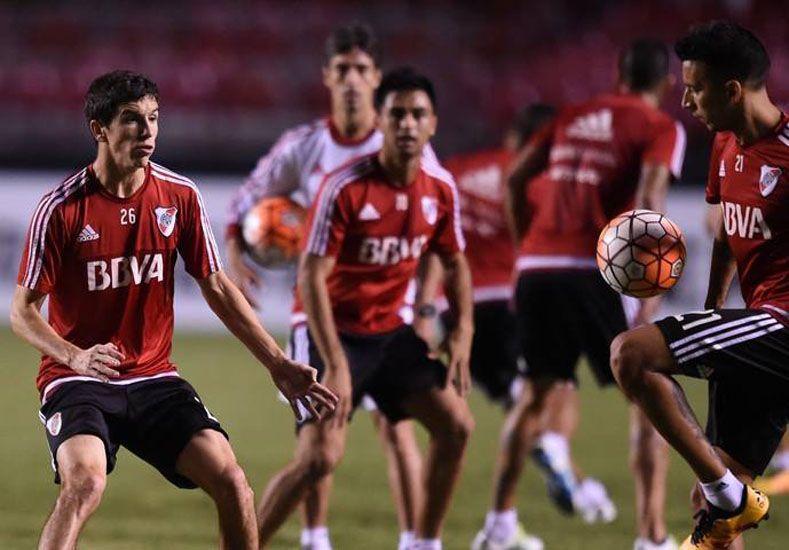 El Millonario juega esta noche en Brasil. Foto prensa River Plate.