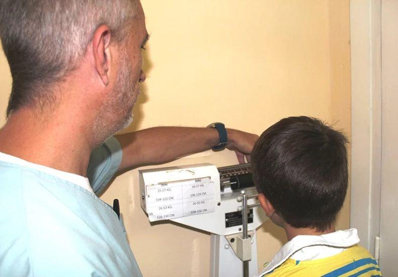La Clínica Escolar de Paraná retomó los controles de salud