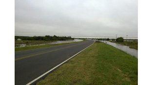 La ruta 12 quedó rehabilitada. (Foto: Municipalidad de Santa Elena)