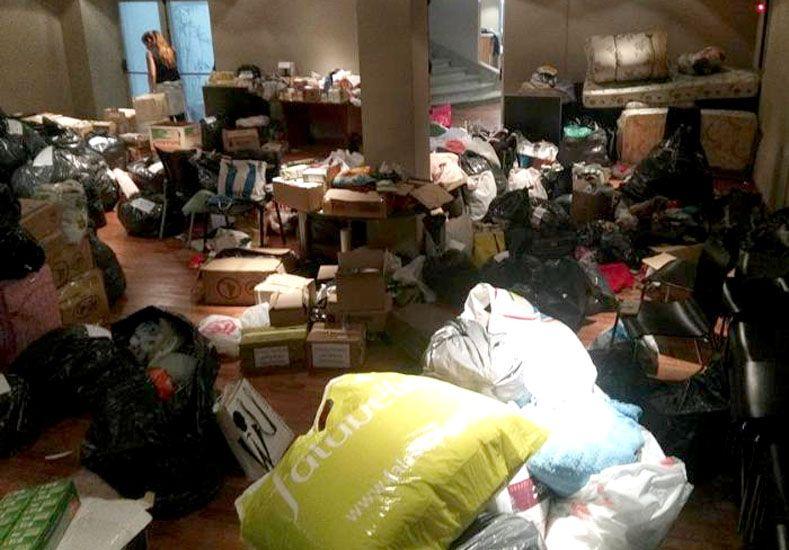 Continúan recibiendo donaciones para las familias afectadas por las inundaciones