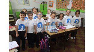 En el aula. La Escuela Santa Ana funciona en los turnos matutino y vespertino. UNO/Juan Ignacio Pereira