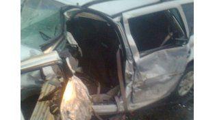 Grave accidente en la zona de Sauce Montrull dejó un fallecido y siete heridos