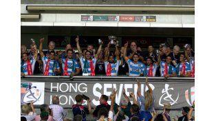 Los Pumas 7s se quedaron con el Bowl de Hong Kong