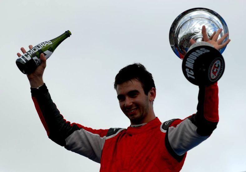 Juan Cruz Benvenuti obtuvo su primera victoria en La Plata