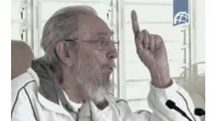 A la vista. Fidel recordó a su fallecida cuñada