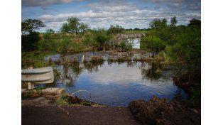 Arroyo Laguna a 7 kilómetros de Feliciano.