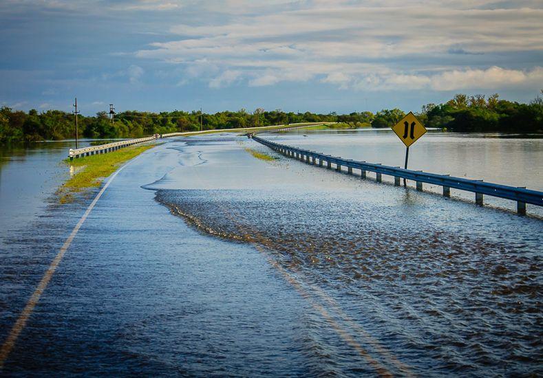 La inundación en imágenes