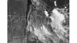 Imagen satelital: smn.gov.ar