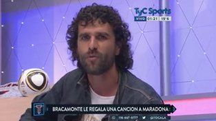 La canción de Bracamonte se viralizó en las redes.