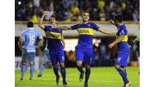Boca ganó y se acomodó en el Grupo 3