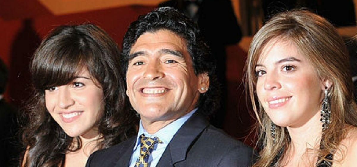 Maradona anuló el testamento en favor de sus hijas Dalma y Gianinna