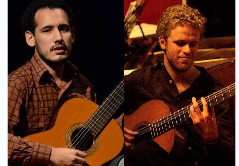 Compositores. Bekes y Ávalos interpretan arreglos propios y algunas de sus composiciones.