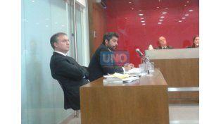 Los fiscales Juan Malvasio y Santiago Brugo sostuvieron que lograron probar su hipótesis de que los cuatro imputados fueron los responsables (Foto UNO/Diego Arias)