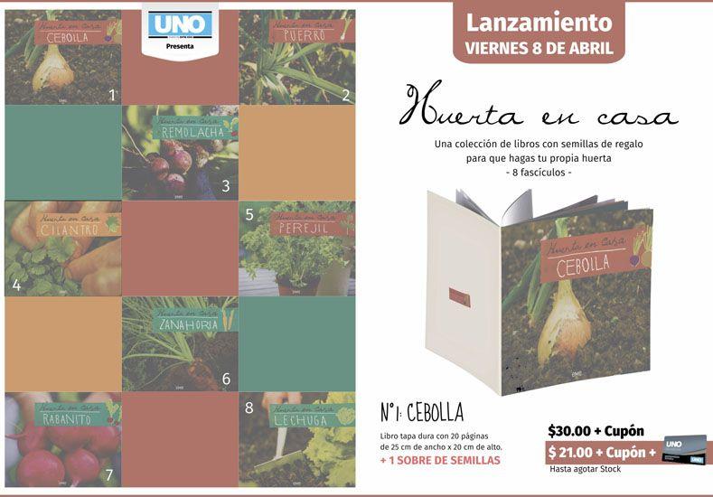 Junto a Diario UNO llega: Huerta en casa