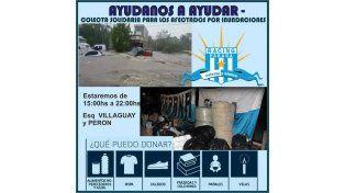 Ya se reciben donaciones para los damnificados de La Paz