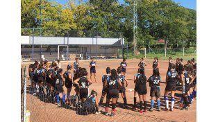 El equipo estará entrenando a mitad de mes en la capital entrerriana. Foto Gentileza/CAS