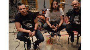 Ecléctica. La banda se identifica por tener un estilo muy propio fruto de las diversas influencias. Foto UNO/Agostina Reula