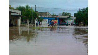 Hay unas mil familias afectadas por el temporal en La Paz