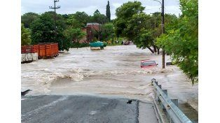 Alerta máxima por las intensas lluvias en el norte entrerriano