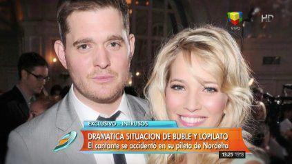 Michael Bublé sufrió un accidente en su casa de Nordelta