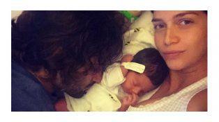 Zaira Nara presentó a su hija a través de las redes sociales