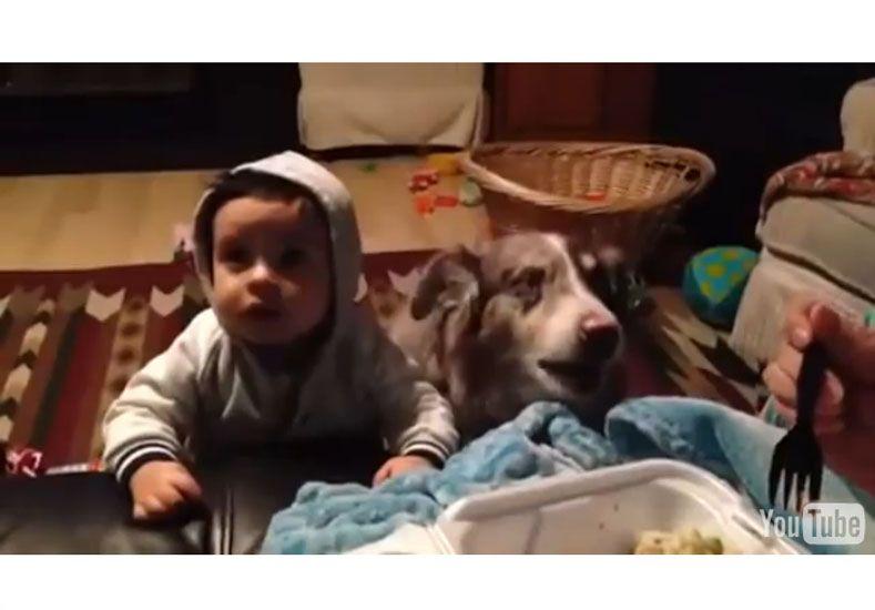 Una mamá se sorprende cuando su hijo le dice mamá