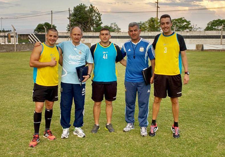 Tres árbitros de la LPF se capacitan a nivel nacional