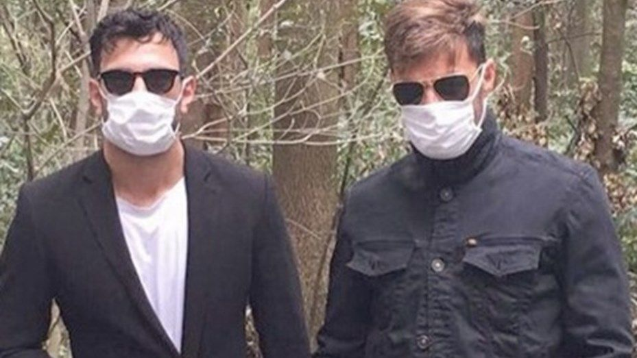 Ricky Martin se mostró con su nuevo novio